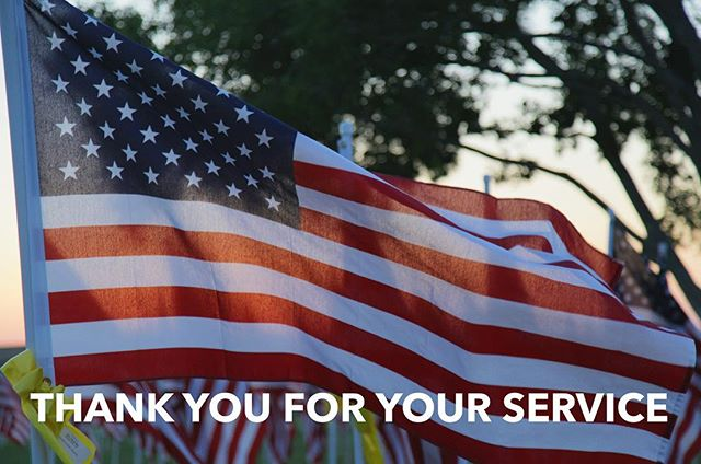 """In honor of all of the veterans who have served our country and those whom I have had the opportunity to served with """"Thank you for your service to our country."""" #veteransday"""