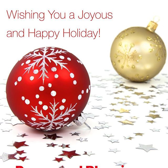 Wishing you a Joyous Holiday and a Happy New Year!   #happyholidays #merrychristmas #happynewyear