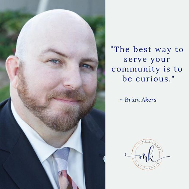 "Brian's practice of immersing himself in his spiritual practice while serving his communities evokes curiosity and inspires participation. After listening to this episode ask yourself, ""What is mine to do?""⁣ ⁣ Episode 011 is a conversation with Brian Akers about Navigating Spiritual Practice, Metaphysical Booby Traps and Rugged Individualism. ⁣ ⁣ Listen to the episode at http://bit.ly/alignwithbrian. Also available on your favorite podcast app.⁣ ⁣ #livingalignedlivingforward  #mariekirkland  #brianakers #spiritualpractice #spirituality #CSL #centersforspiritualliving #OnenessCSL #metaphysical ⁣"