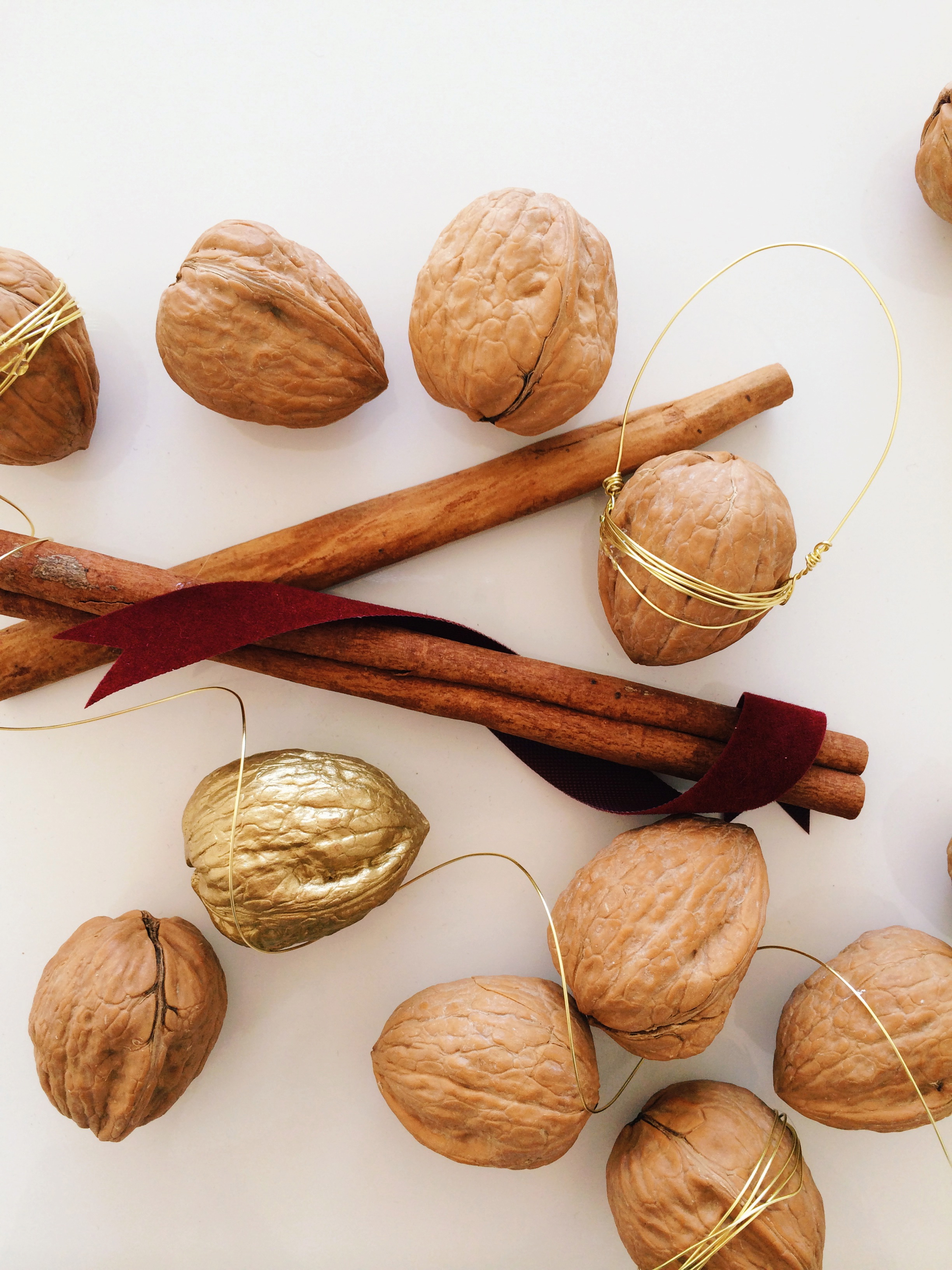 DIY Walnut Tree Ornament