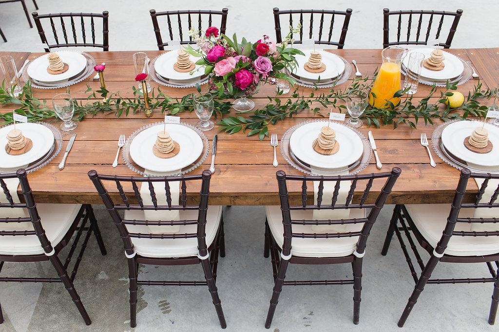 Sunrise Brunch Wedding Table