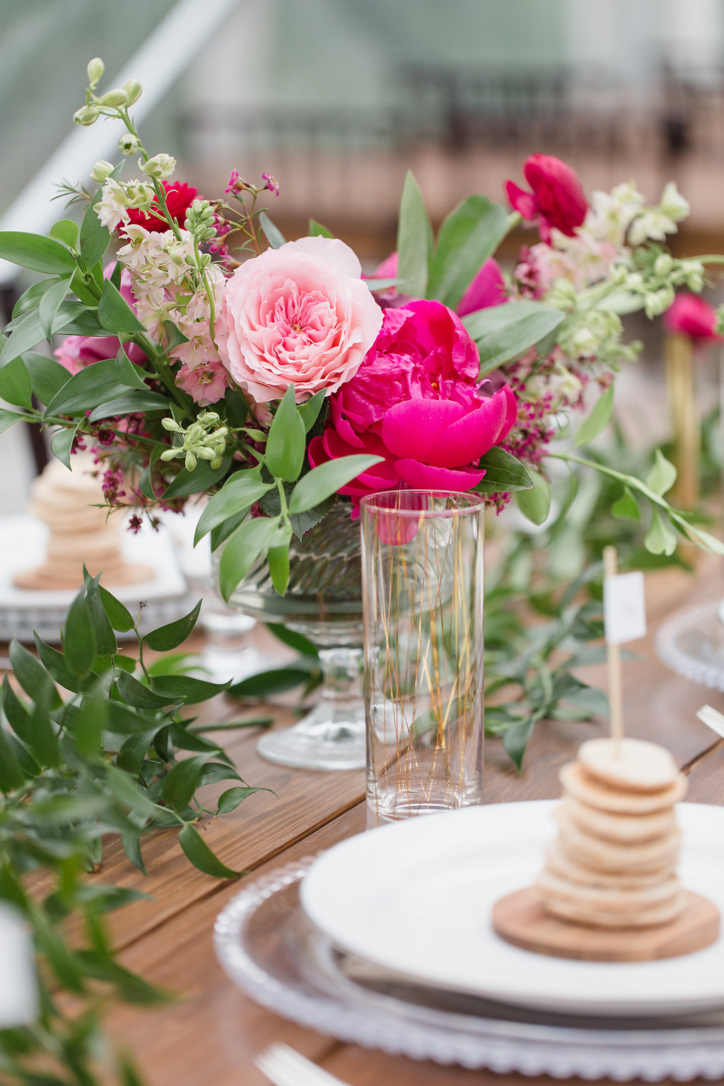 Pink and Gold Brunch Wedding Inspiration