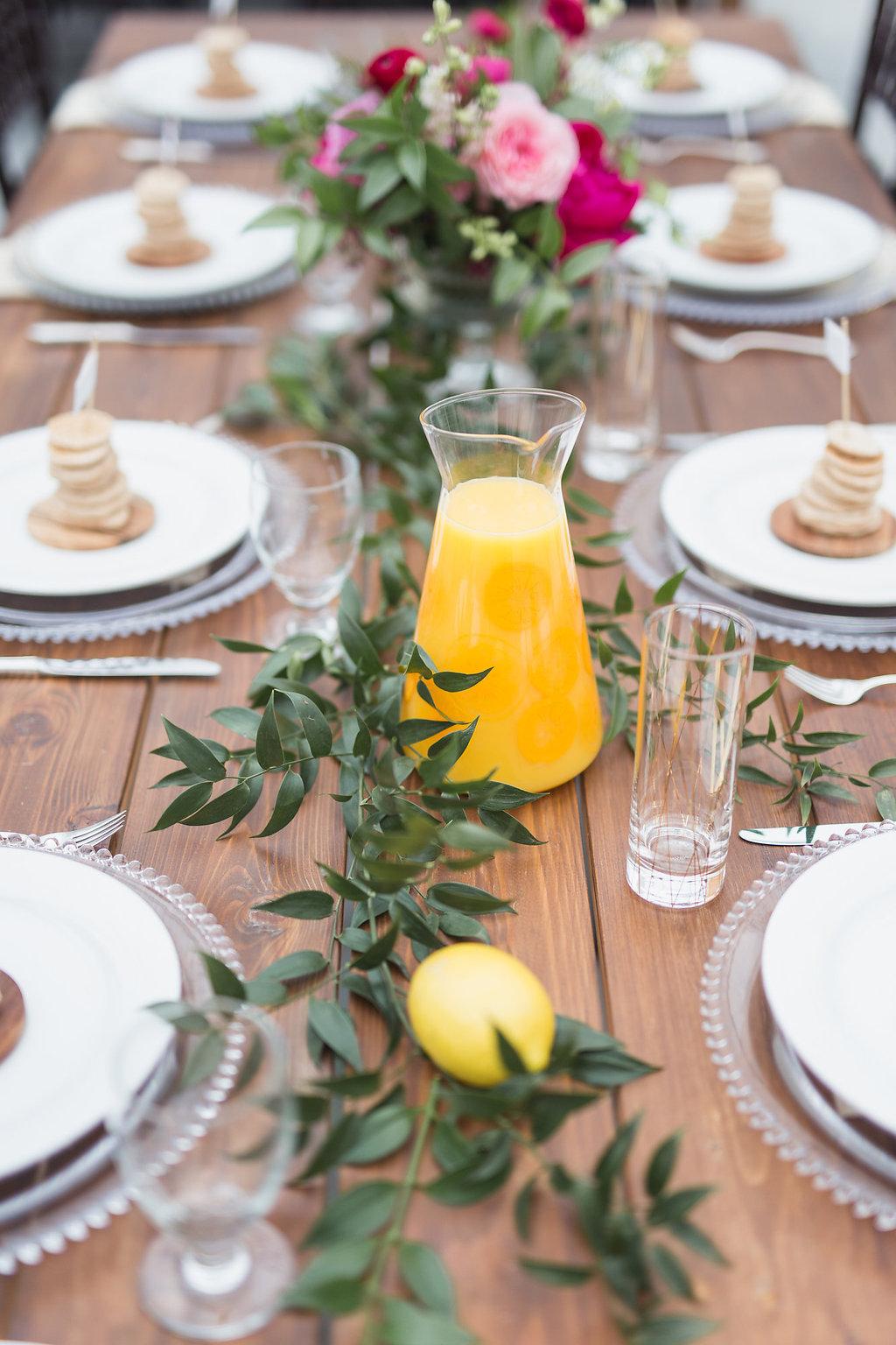 Sunrise Brunch Wedding Inspiration