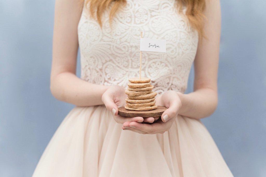 Pancake Stack Name Cards