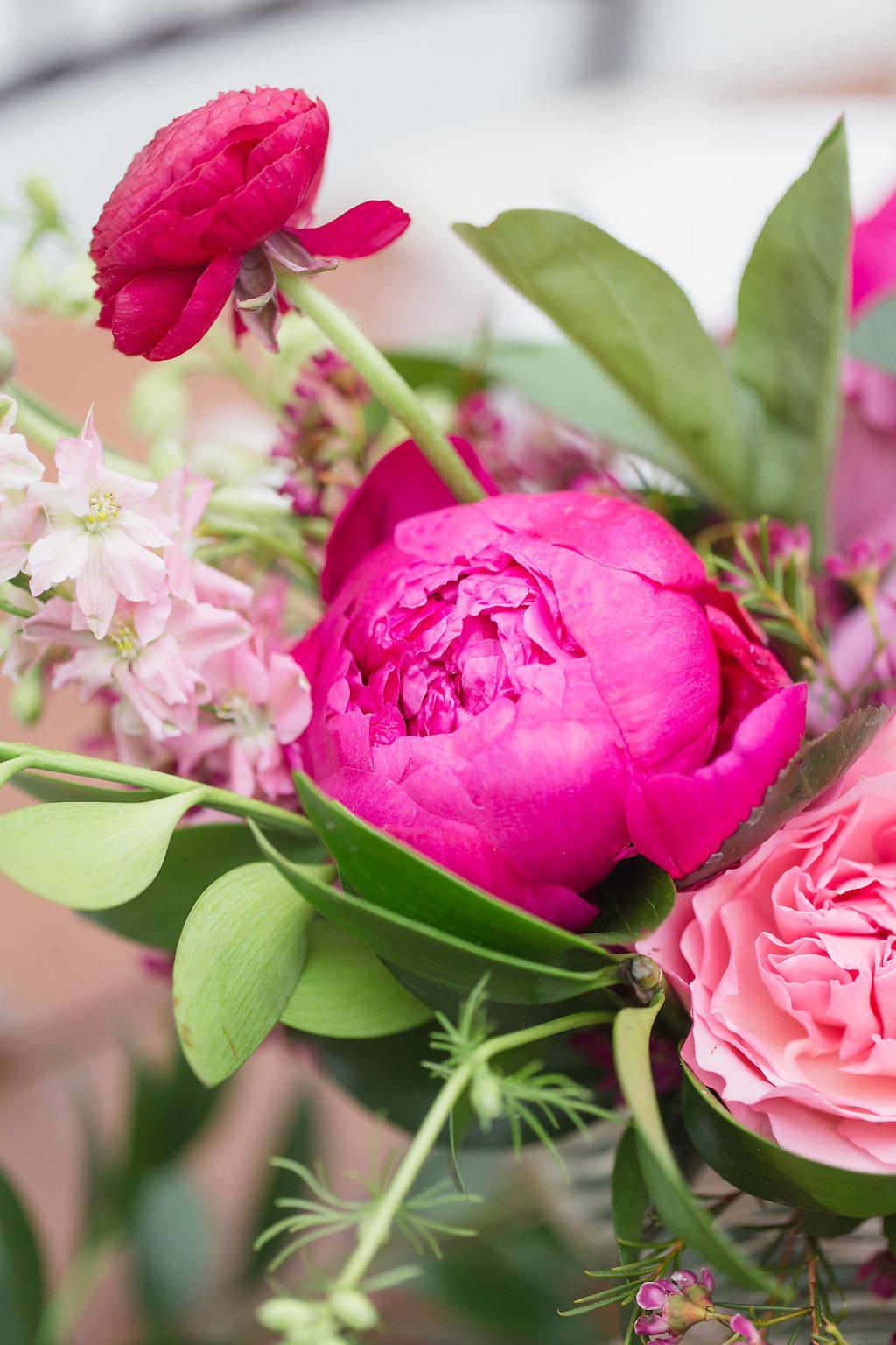 Pink Floral Ingredients
