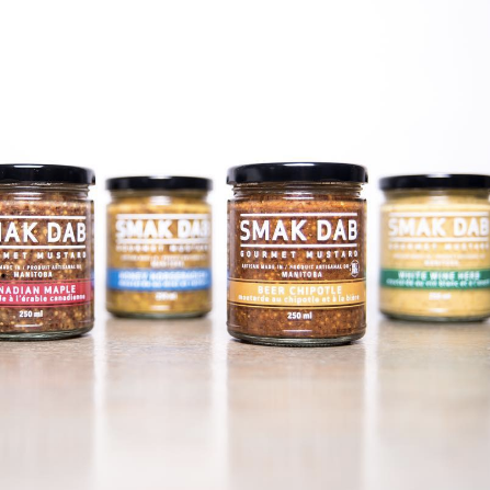 Winnipeg Holiday Gift Guide - Smak Dab Gourmet Mustard