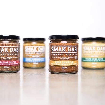 Winnipeg Holiday Gift Guide - Smak Dab Gourmet Mustard