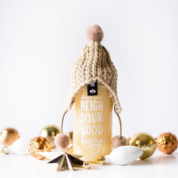 Winnipeg Holiday Gift Guide - Beeproject Apiaries Neighbourhood Honey