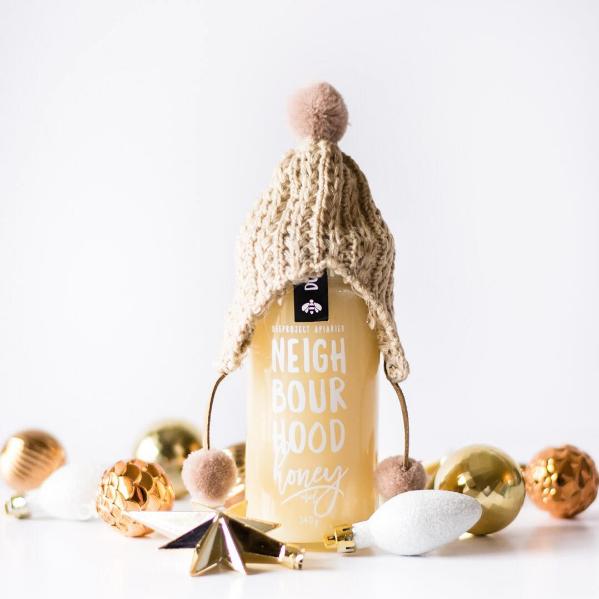 Winnipeg Holiday Gift Guide - Beeproject Apiaries Neighbourhood Honey