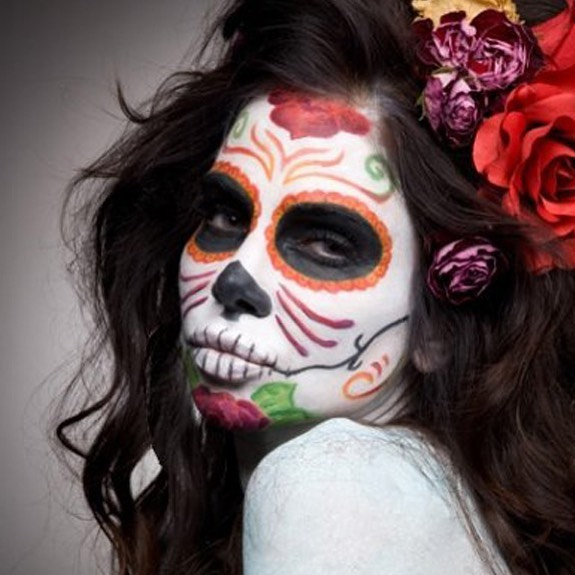 @sebreephoto makeup hair,styling @melaniemanson.la #dod #dayofdead #dayofthedead #laweekly