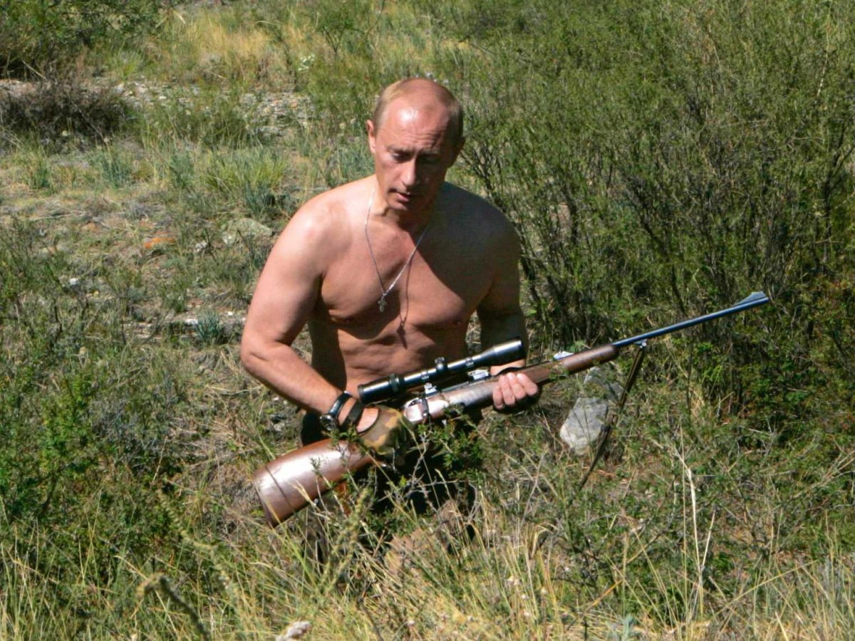 Middle aged Russian man searches for his masculinity