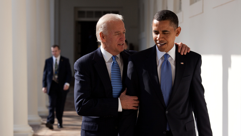 The person most qualified to carry President Obama's torch is Vice President Biden.