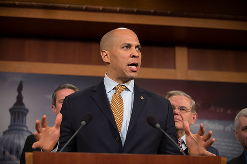 Recent criticism of Cory Booker comes from a familiar source.