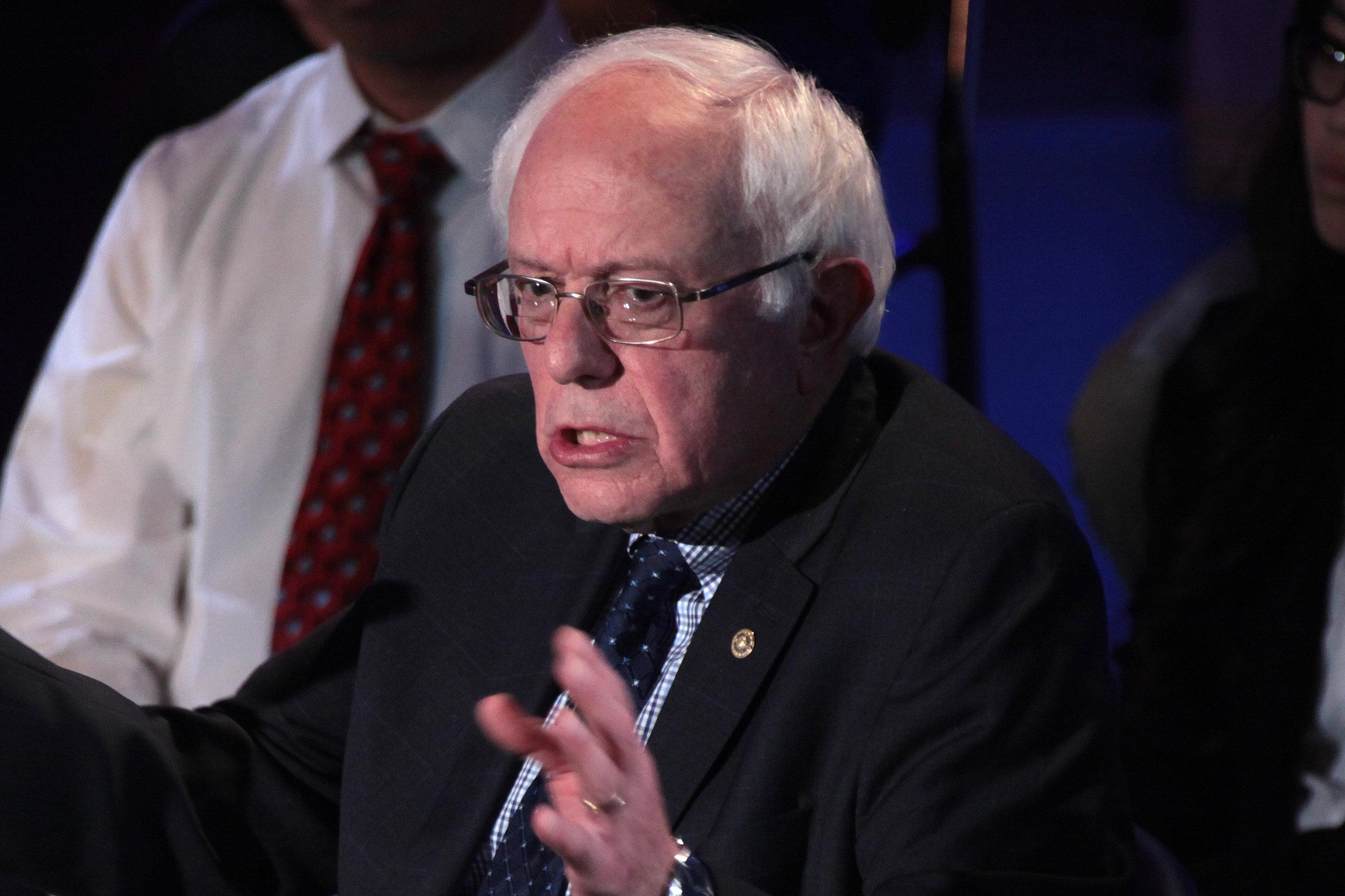 Where was Bernie Sanders on June 9th, 2016?