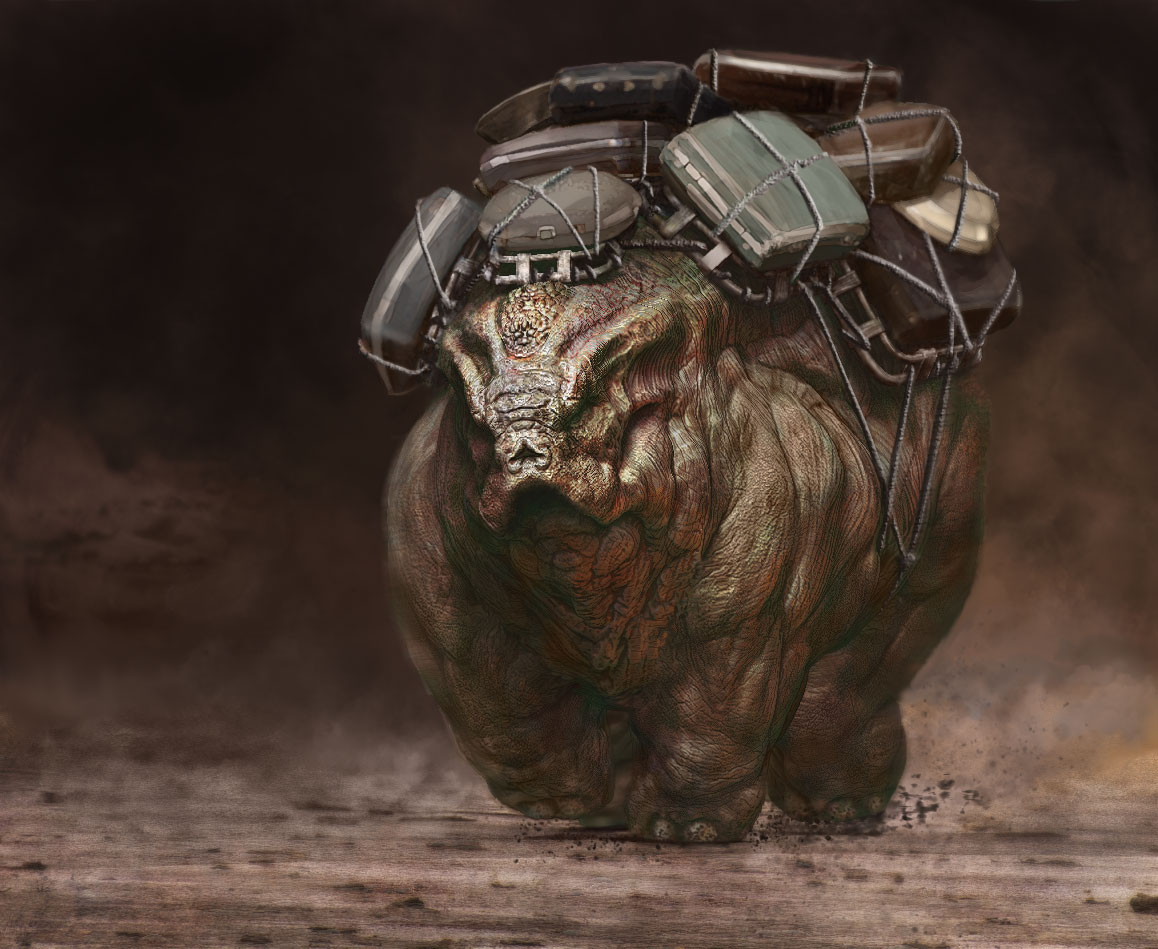 ZBRUSH AND PHOTOSHOP MASH UP IN  2014