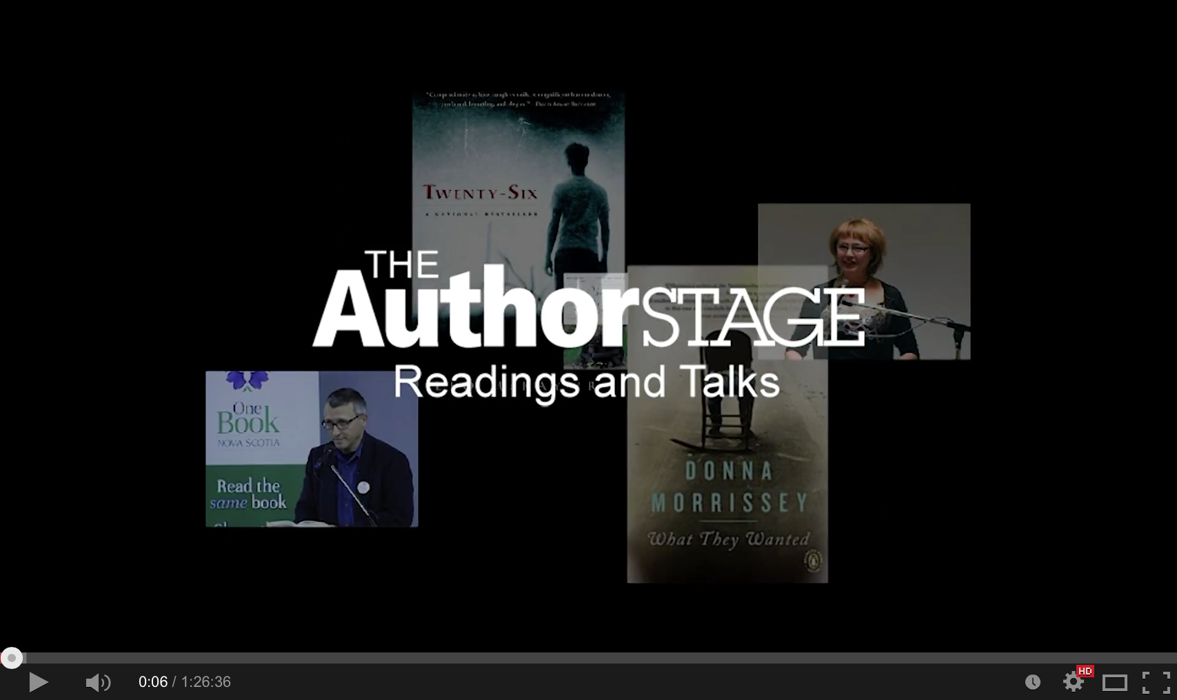 The Author Stage | David Adams Richards with musician Dan MacCormack