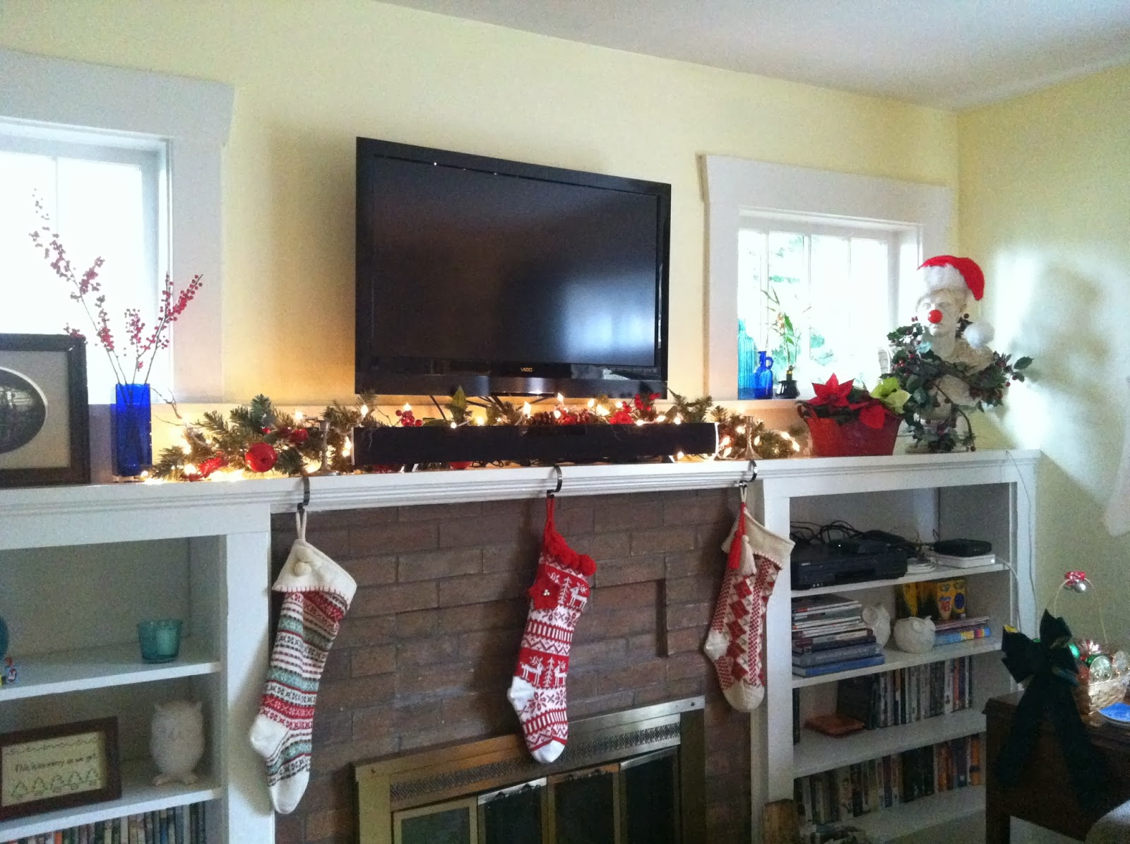 Stockings hung by the chimney with care