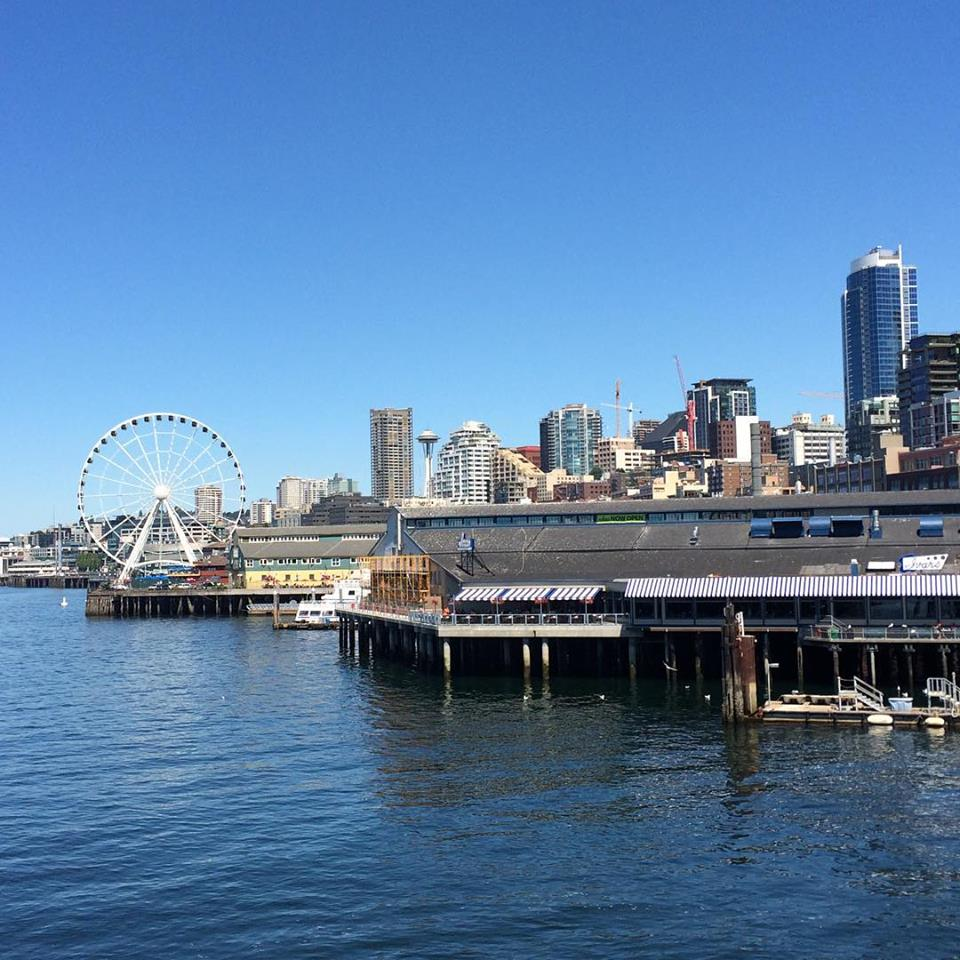 View from the Seattle to Bainbridge Island ferry