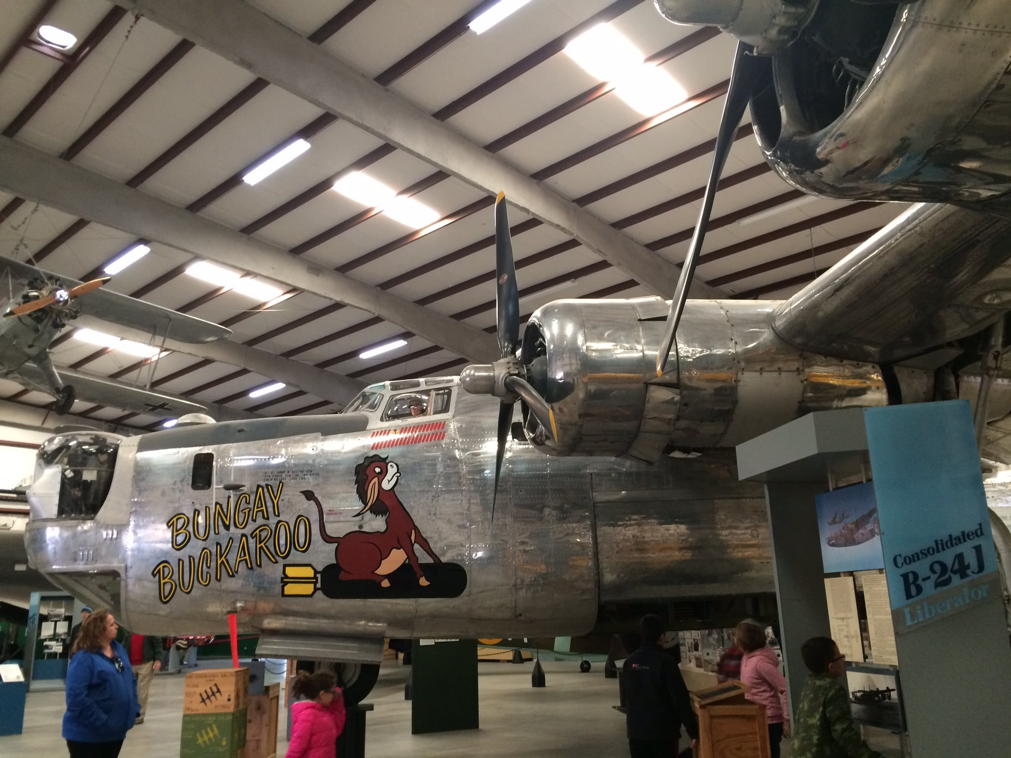 My grandad was a WWII mechanic on B-29s (like this one)