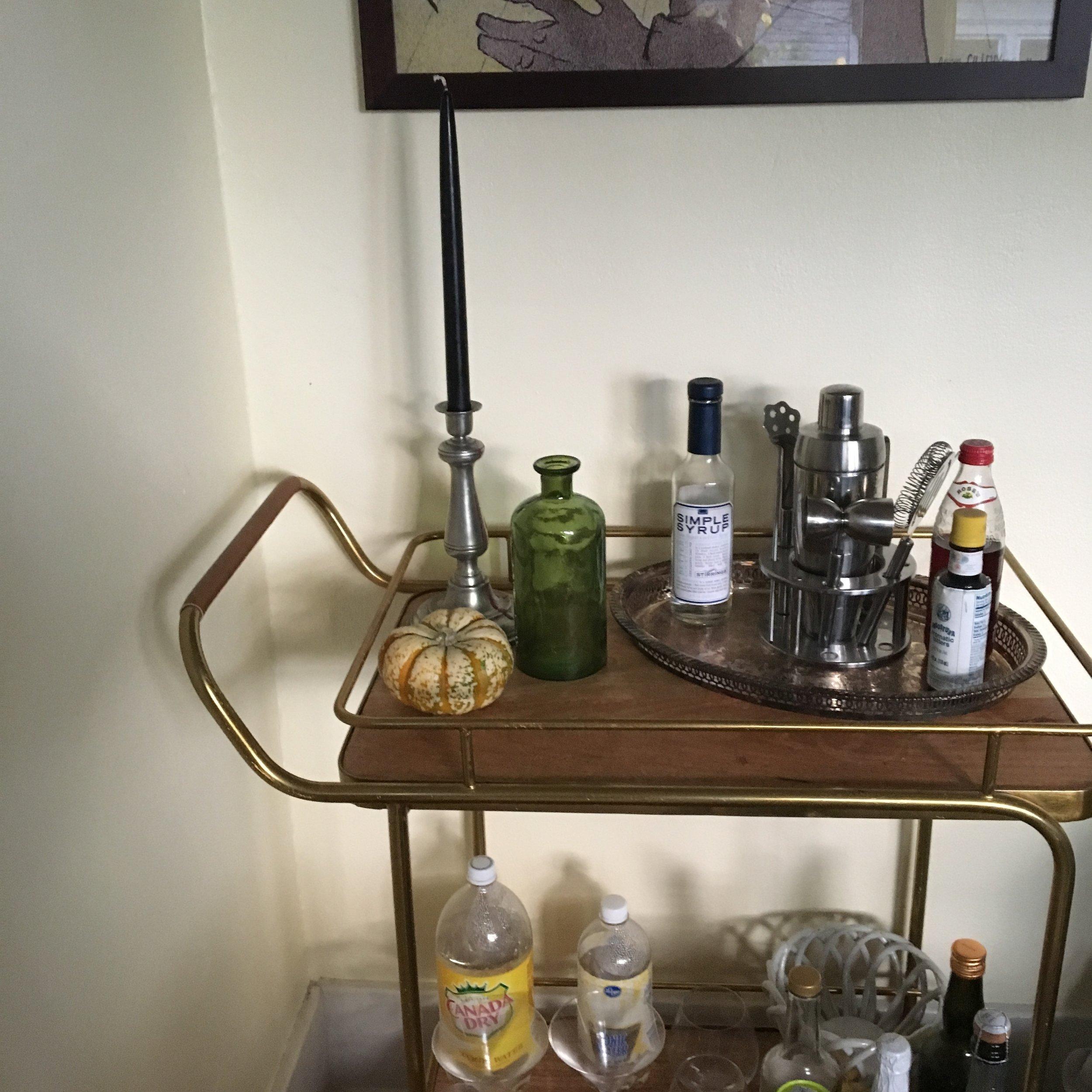 Green bottle found at TJ Maxx