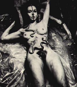 Carolee Schneemann, Eye/Body via caroleeschneemann.com