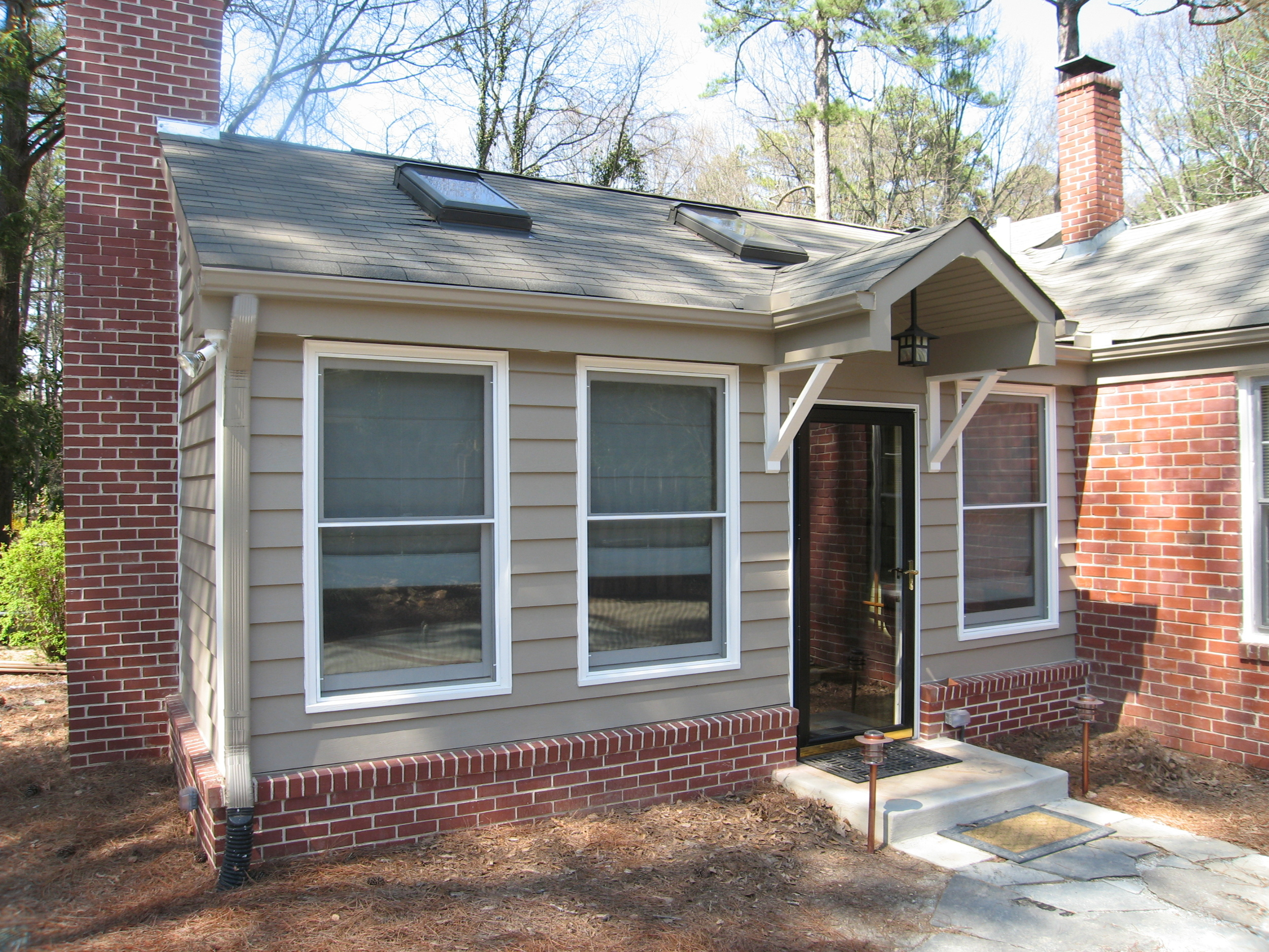 Peachtree Park - Addition - Sunroom