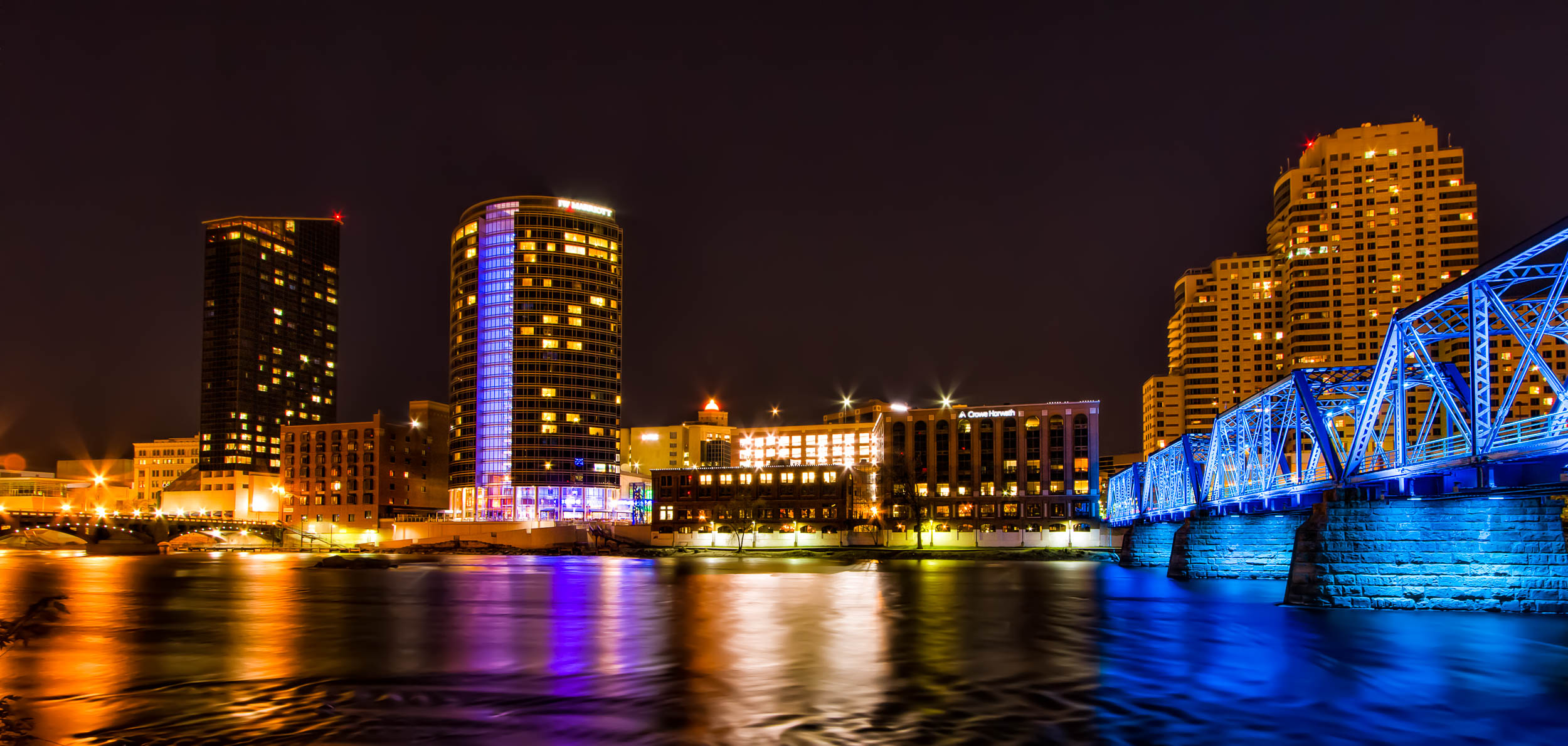 Waterfront Downtown Grand Rapids