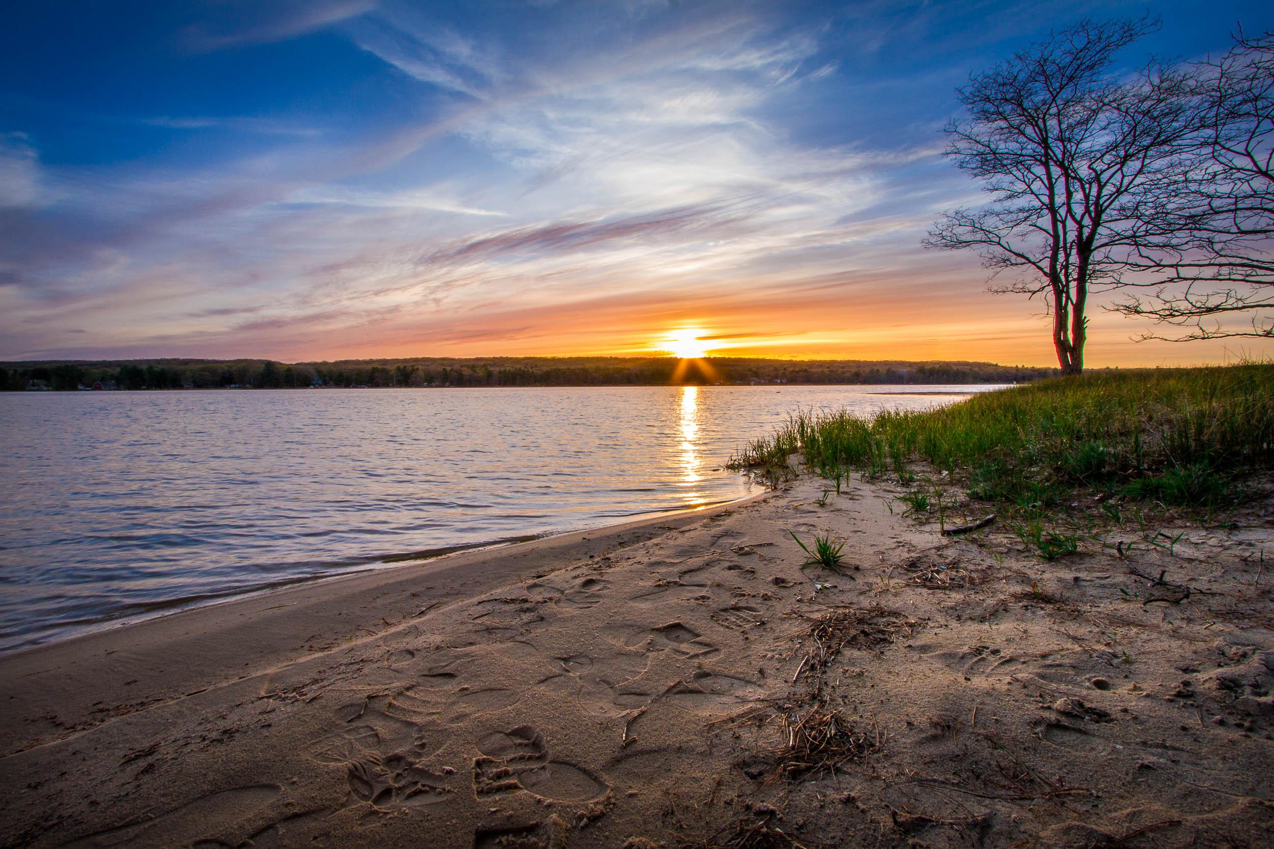 Sunset on Otsego Lake