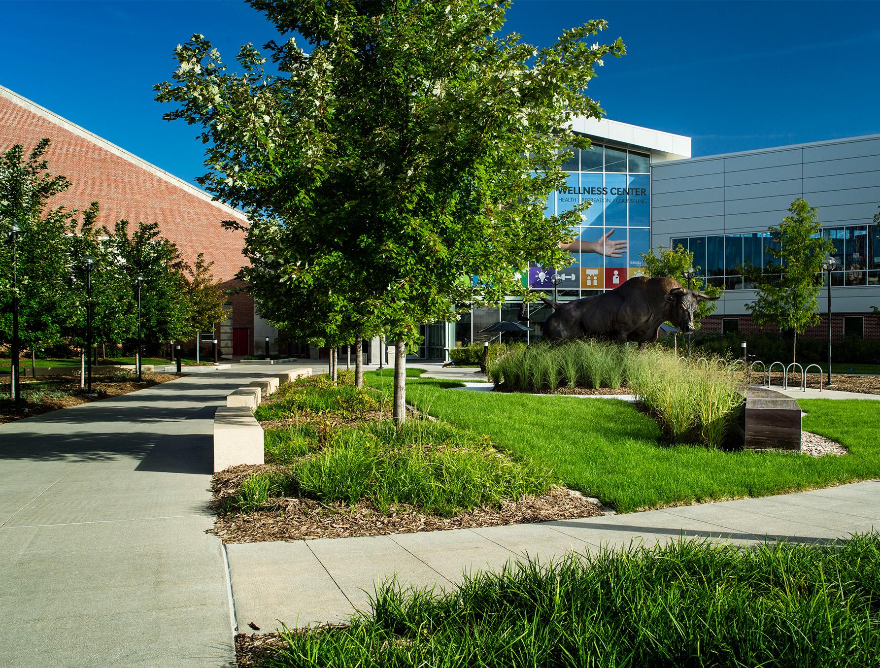 University Of Nebraska Omaha Plaza