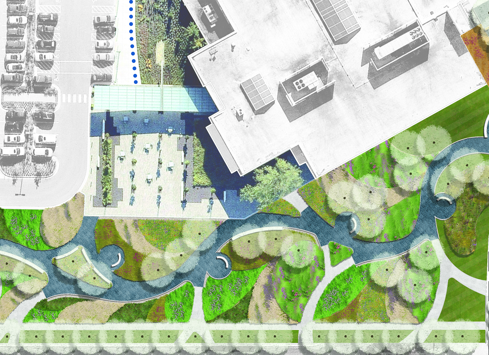 Swope Campus Stormwater Concept