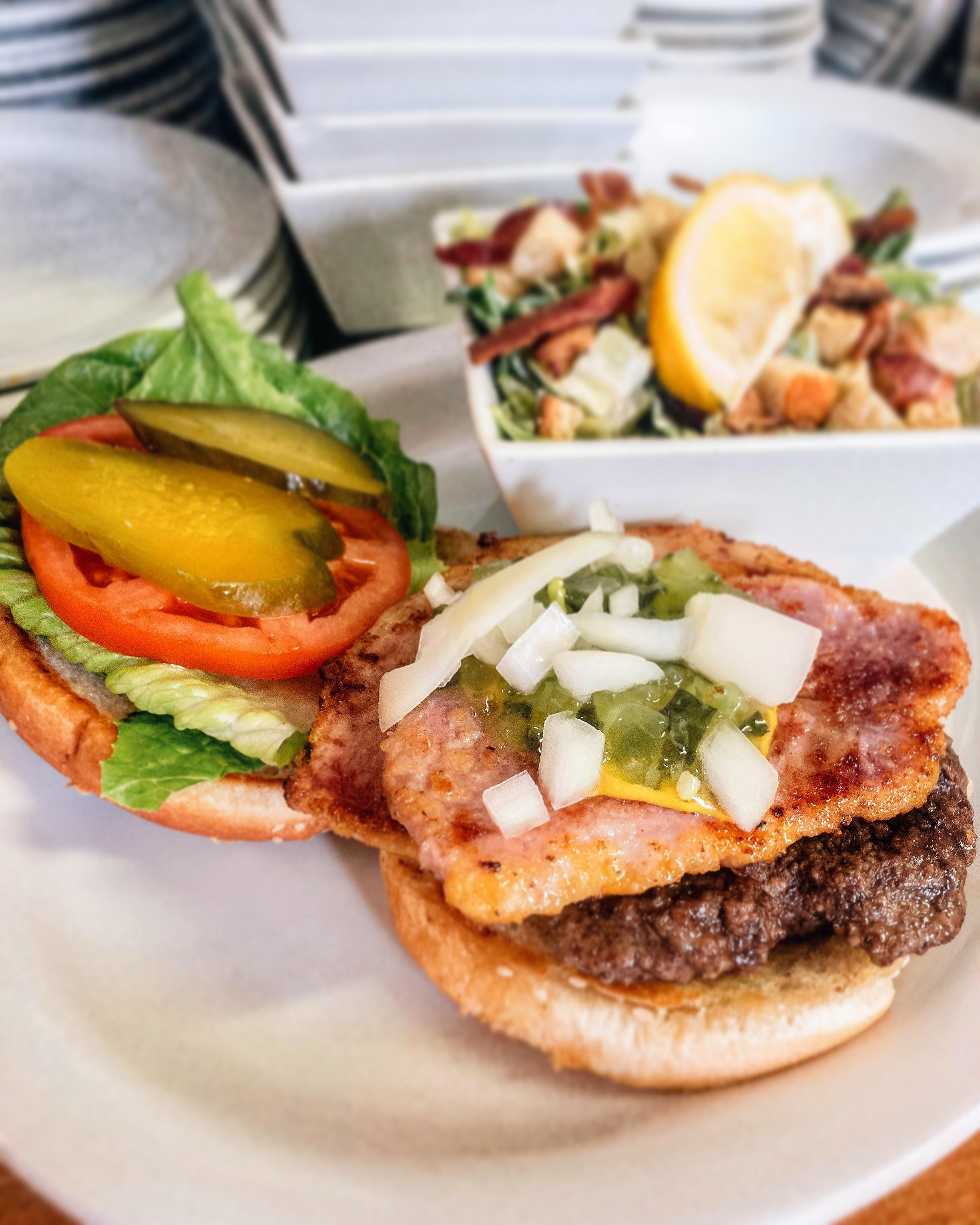 Myrts's new Pemeal Burger