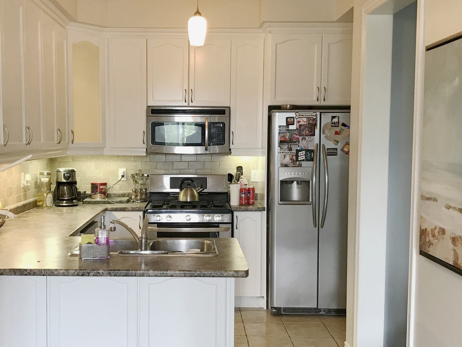 Cabinet Painting - We refinish cabinets and furniture as well. This usually requires three coats of paint. Oil paint is best for cabinets but requires a day of drying in between coats.Schedule Estimate