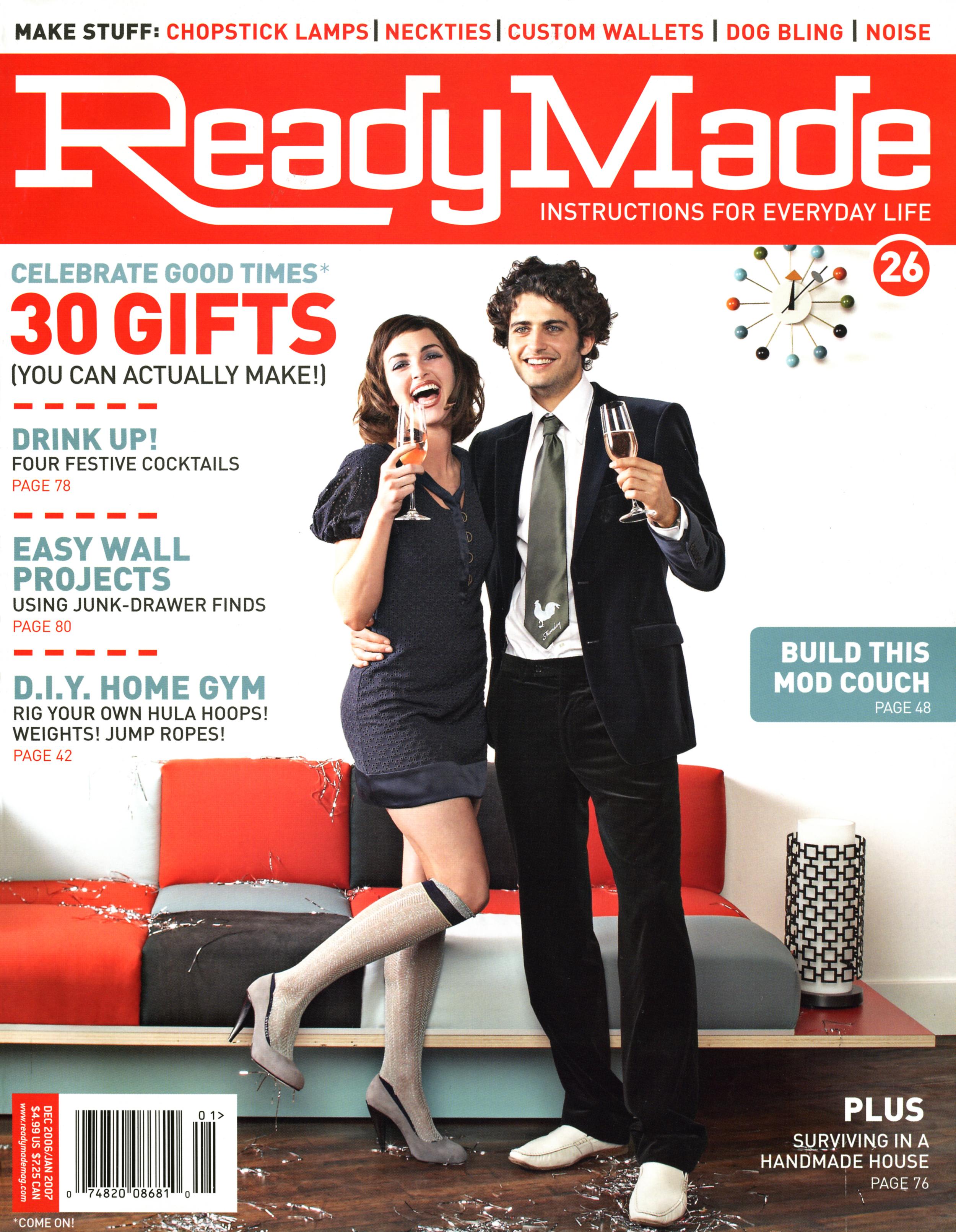 Ready Made Magazine December January 2006