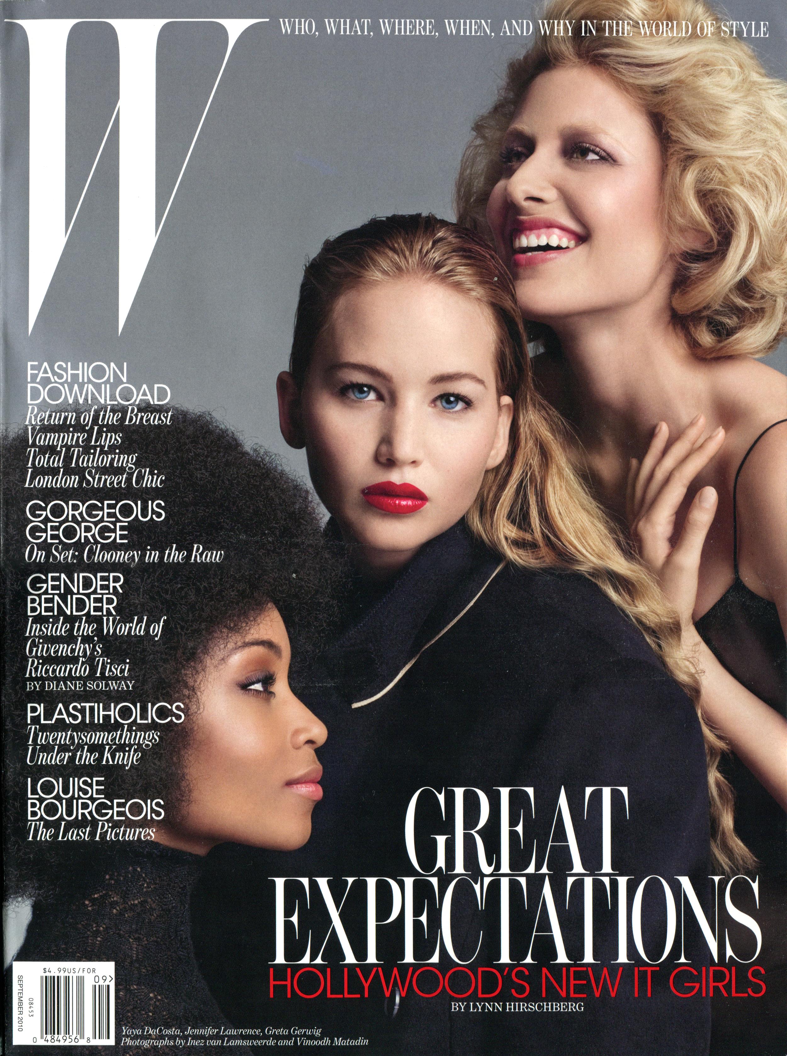 W Magazine September 2010