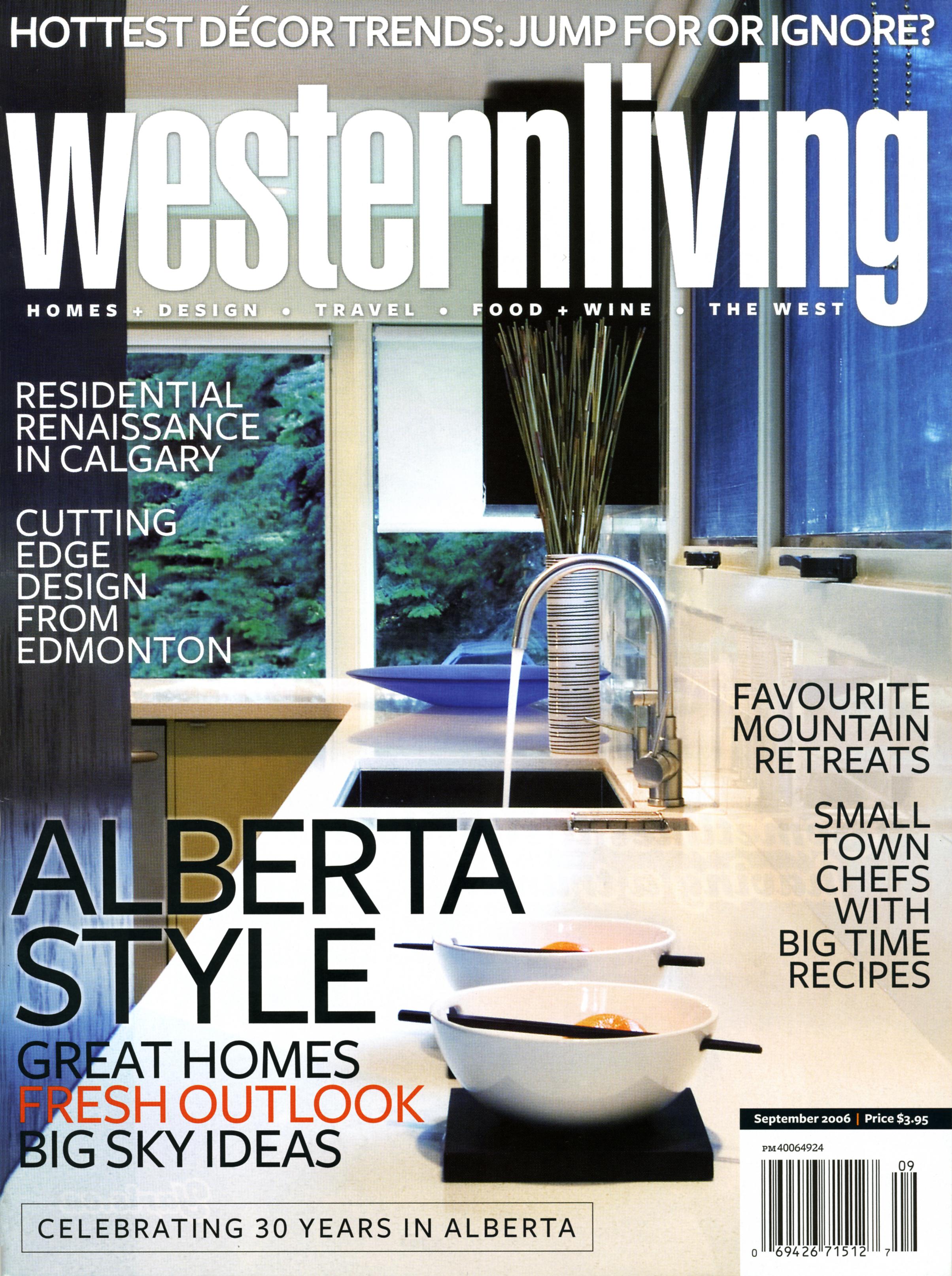 Western Living September 2006