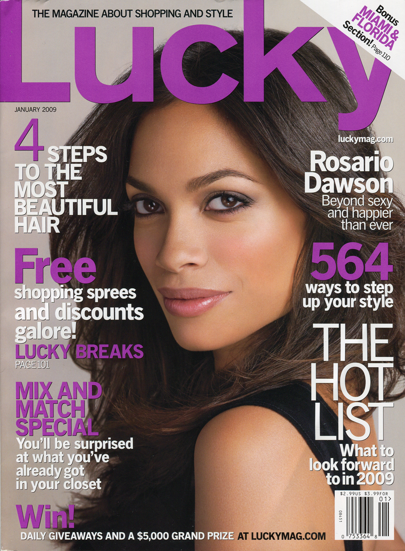 Lucky Magazine January 2009