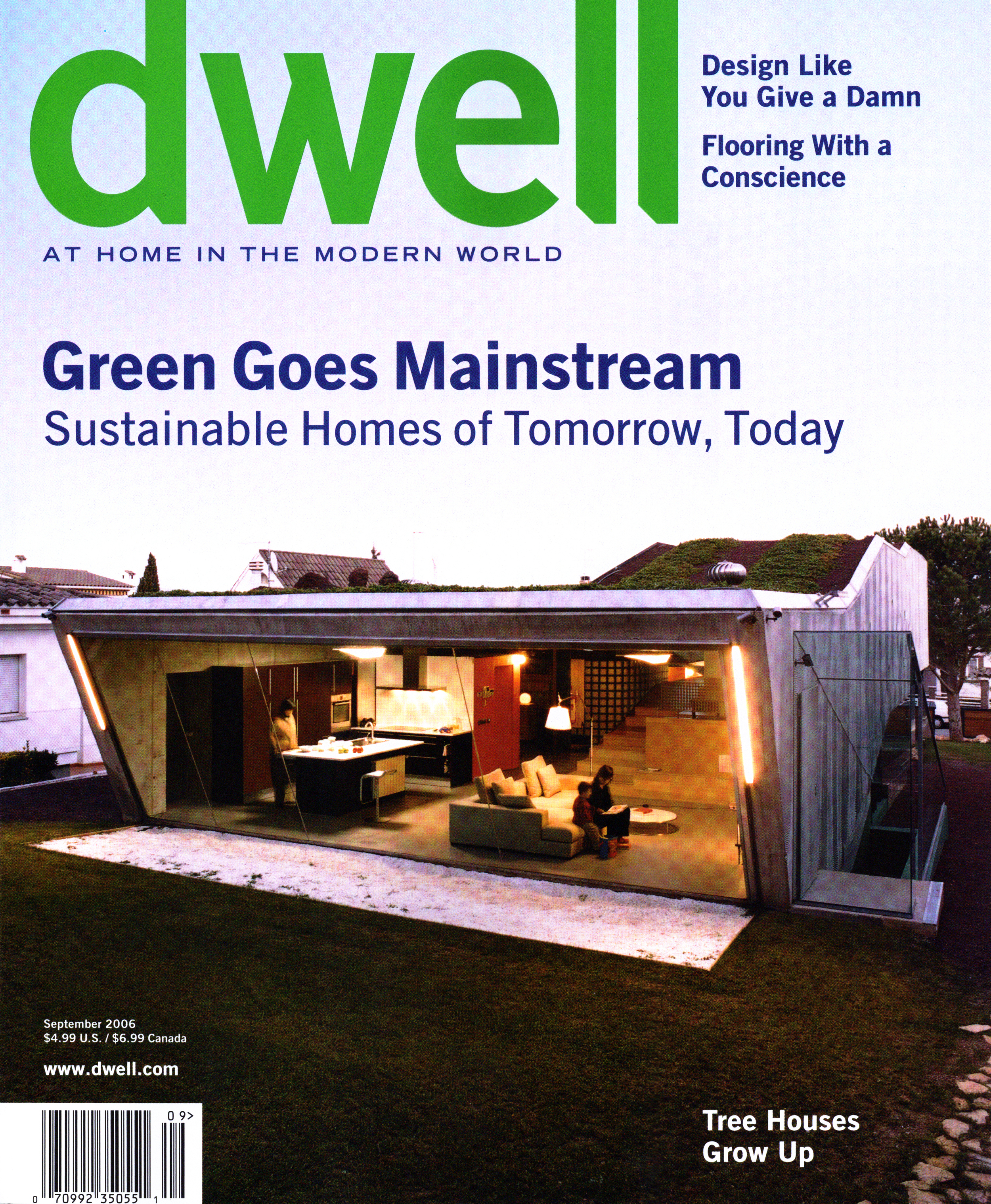 Dwell Magazine September 2006