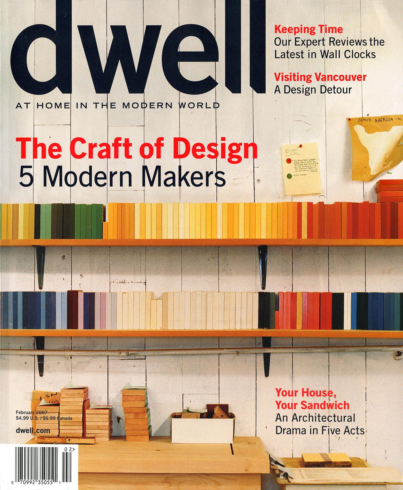 Dwell Magazine February 2006