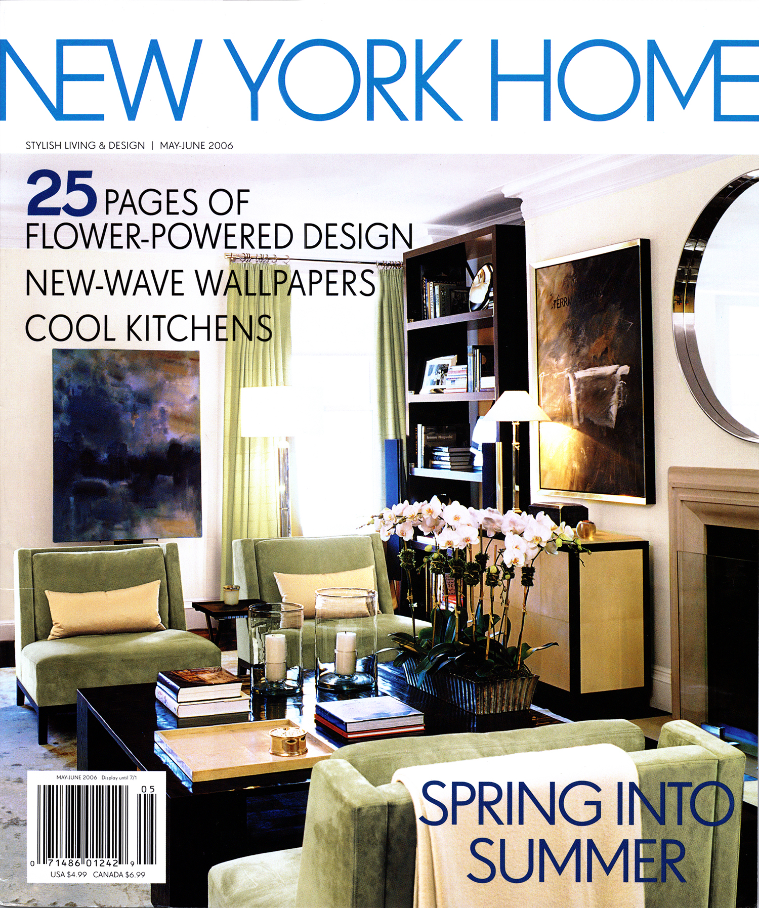 New York Home Magazine May June 2006