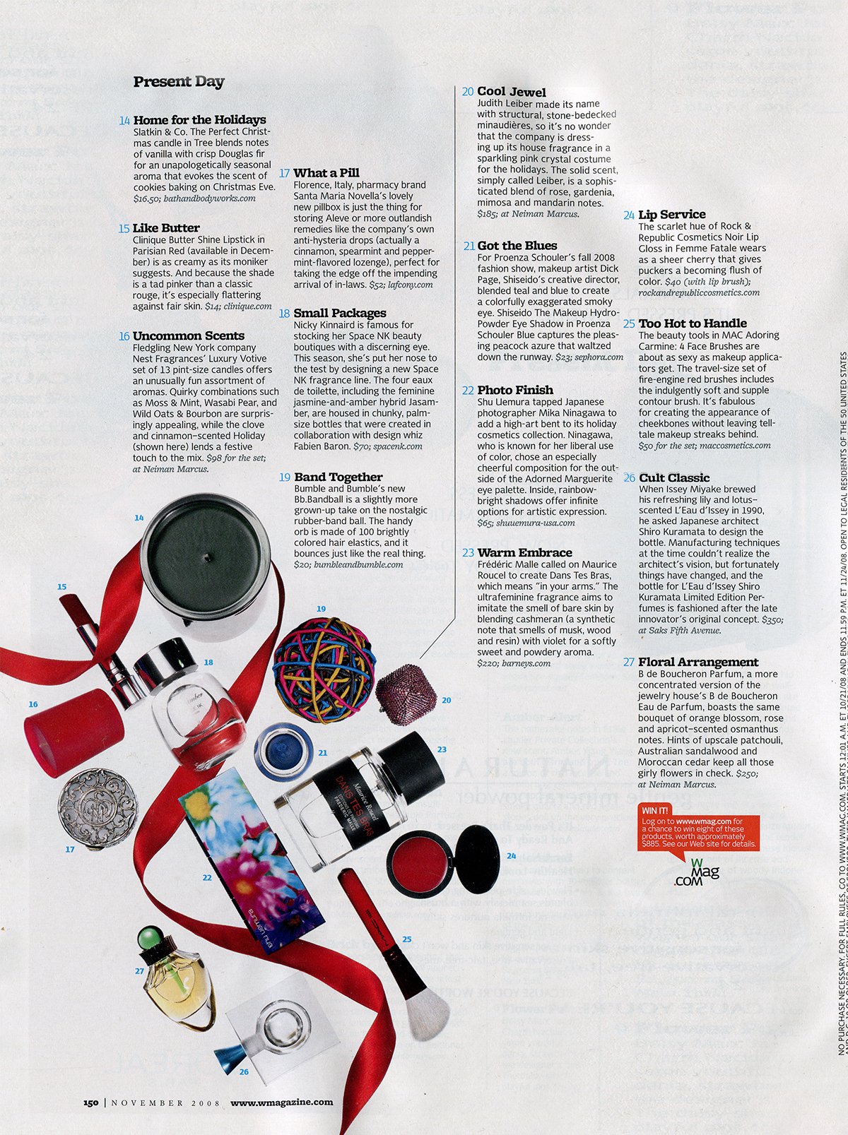 W Magazine November 2008