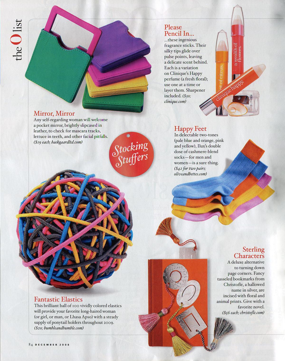 O Magazine December 2008