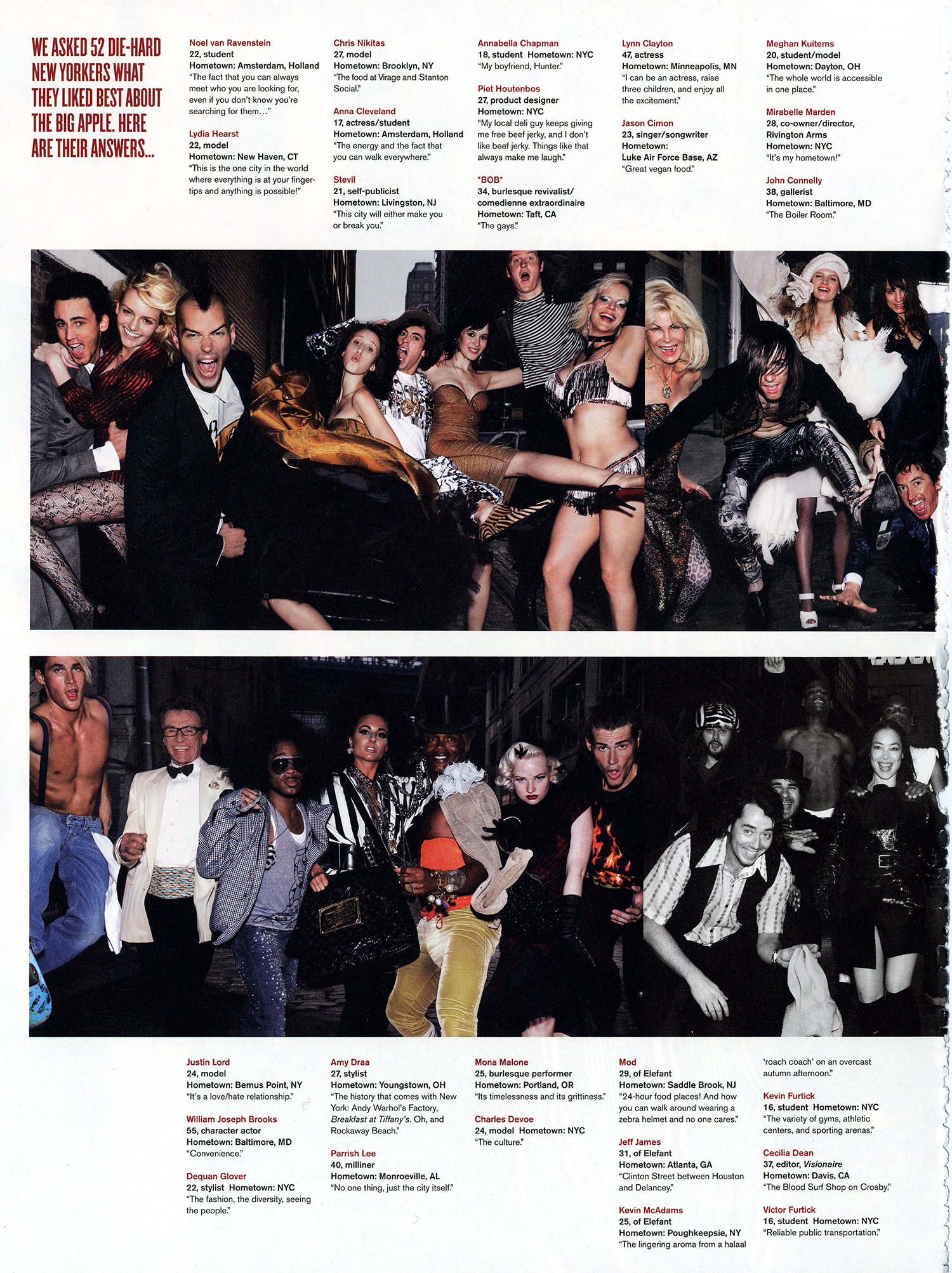 V Magazine Winter 2006 2007 V44 Group Sects Piet Houtenbos
