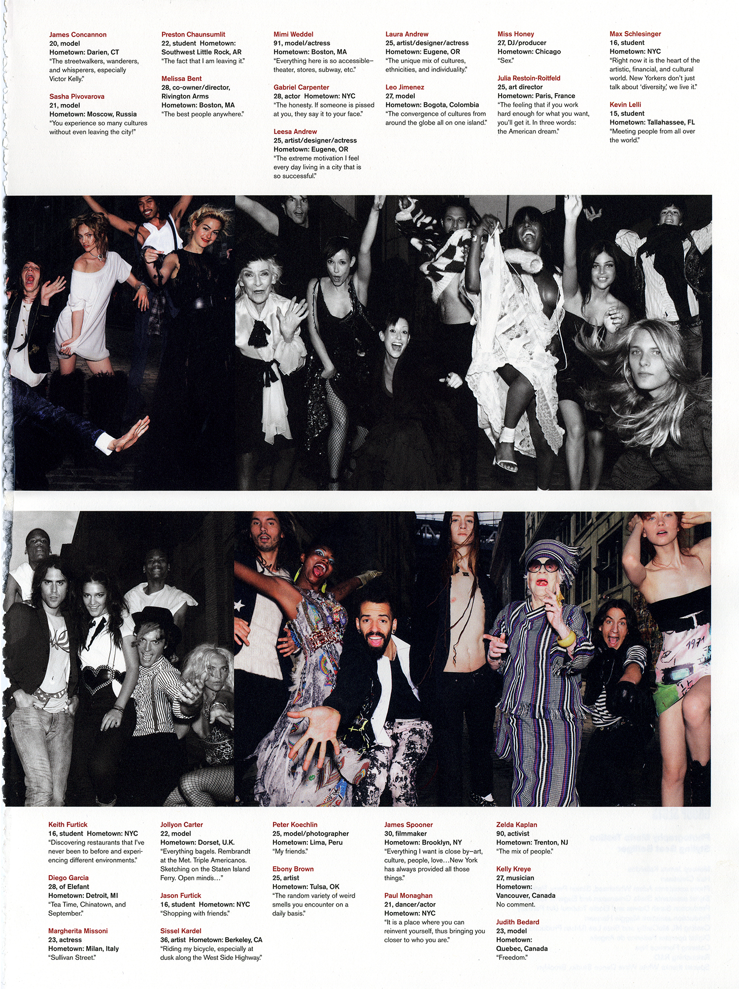 V Magazine Winter 2006 2007 V44 Group Sects