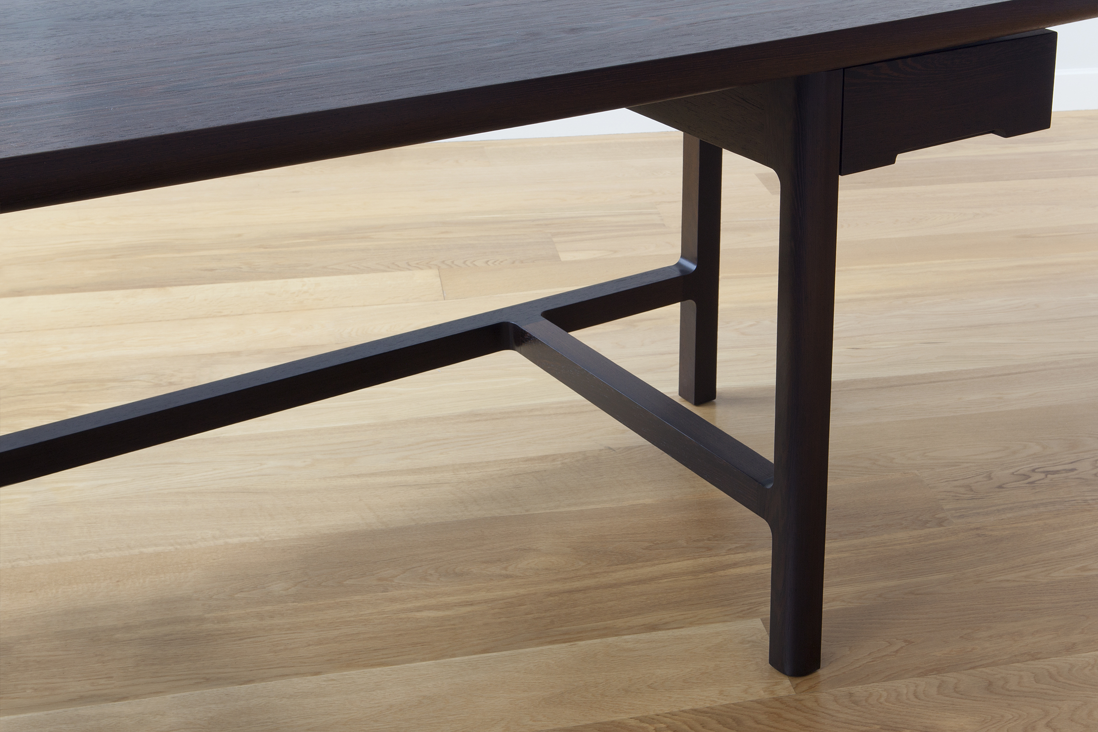 Asa Captains Desk in Solid Wenge