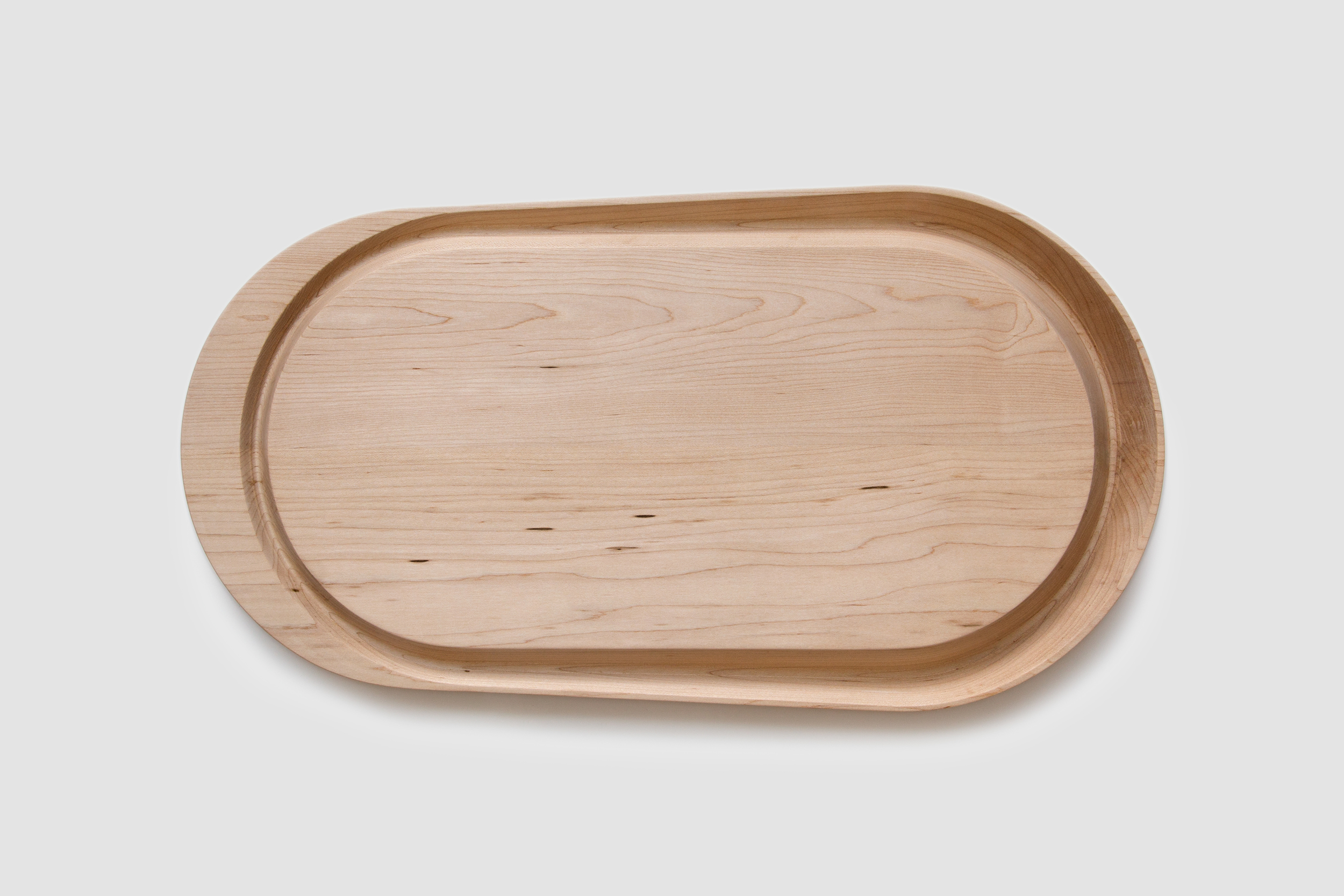 Crescent Carving Board by Piet Houtenbos