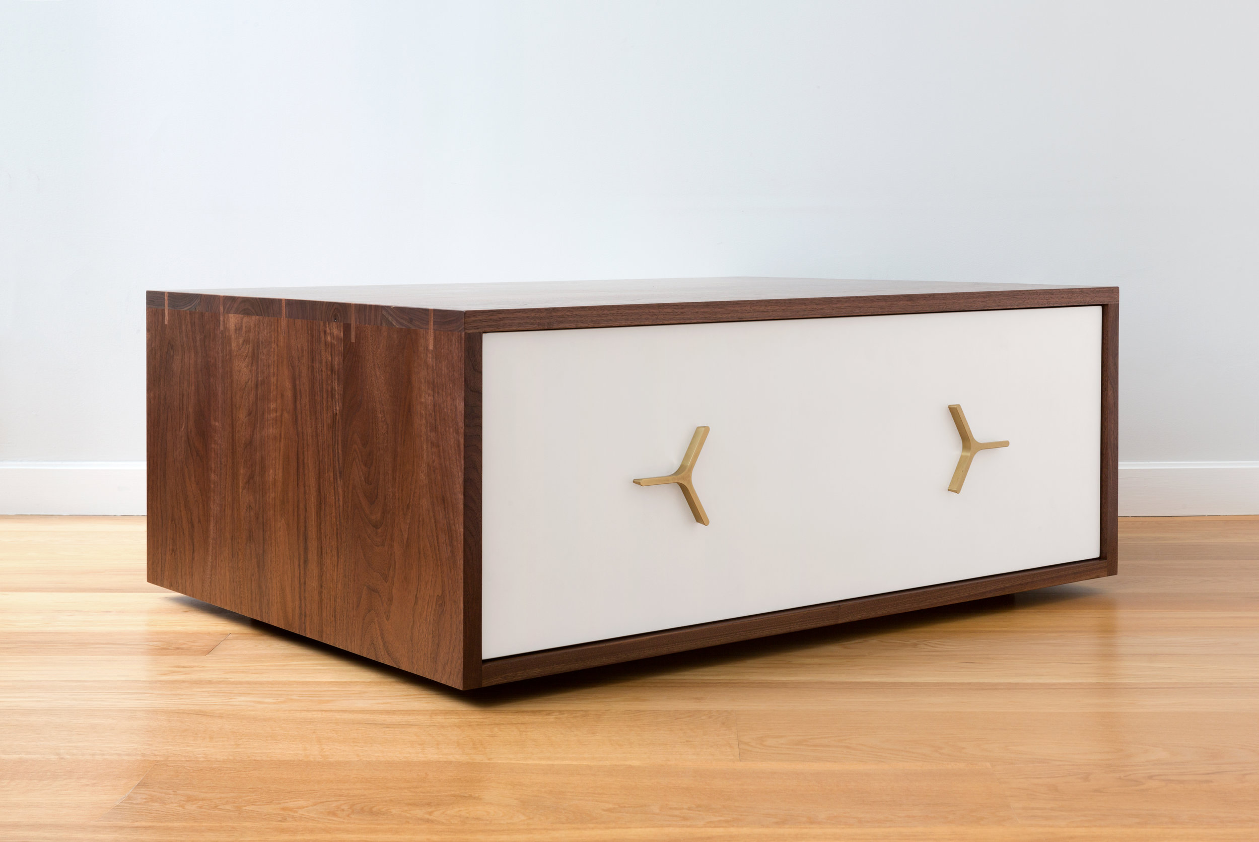Flux Coffee Table with Storage by Piet Houtenbos