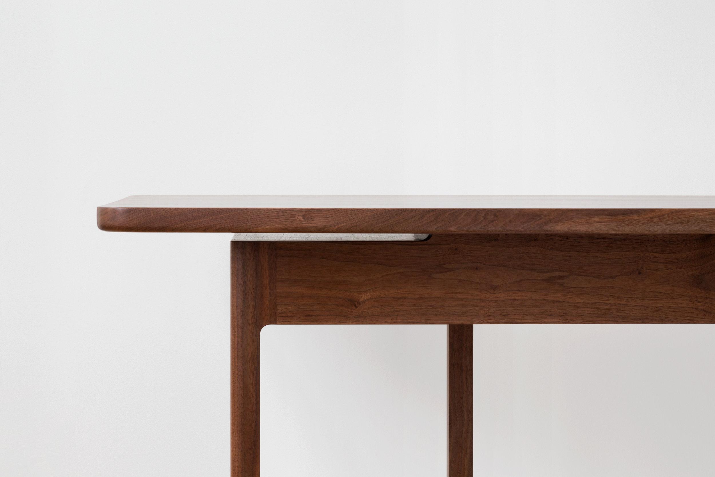 Asa Captains Desk in Walnut by Piet Houtenbos