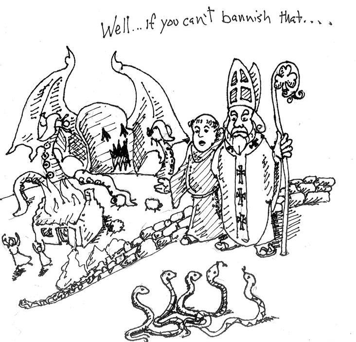 St. Patrick meets Cthulhu