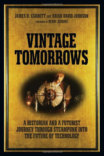 Vintage Tomorrows Book Cover