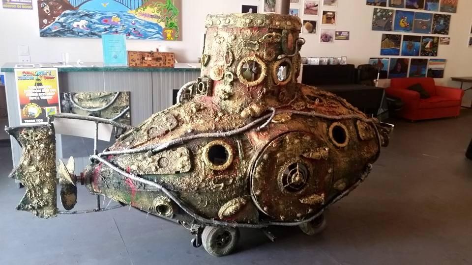 "The ""Ancient Mariner"" Submarine"
